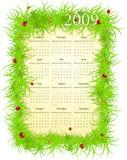 Vector illustratie van de kalender van Pasen royalty-vrije illustratie