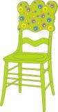 Vector illustratie van de stoel van kinderen vector illustratie
