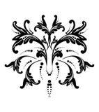 Vector illustratie van een abstracte bloem Stock Afbeelding