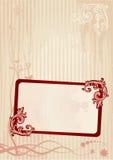 Vector illustratie van een frame Stock Foto's