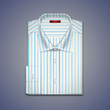 Vector illustratie van een klassiek overhemd Royalty-vrije Stock Foto