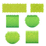 Vector illustratie van gras Royalty-vrije Stock Afbeeldingen