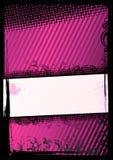 Vector illustratie van grungebehang Stock Fotografie