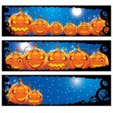 Vector illustratie van Halloween banners vector illustratie