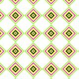 Vector illustratie van kleurrijk geometrisch patroon Royalty-vrije Stock Afbeelding