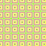 Vector illustratie van kleurrijk geometrisch patroon Stock Afbeeldingen