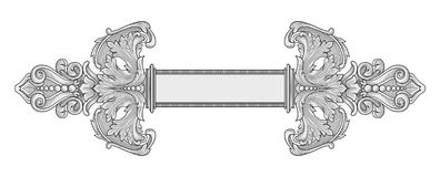 Het kader van de decoratie Royalty-vrije Stock Foto