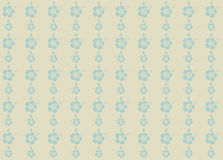 Vector illustratie van hibiscusachtergrond Stock Foto's