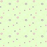Vector illustratiepatroon met kleurrijke cirkels Royalty-vrije Stock Foto's
