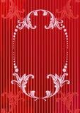 Vector illustratie van rode a Stock Fotografie