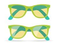Vector illustratie van zonnebril Stock Afbeeldingen