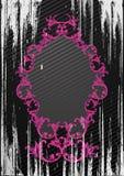 Vector illustratie van zwart grungeframe stock illustratie