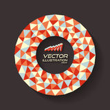 Vector illustratie voor ontwerp Royalty-vrije Stock Afbeeldingen