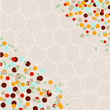 Vector illustration of abstract background Royalty Free Stock Photos