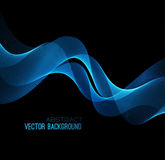 Vector illustration abstract background blue Royalty Free Stock Photos