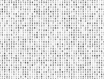 Vector Illustration of abstract big data numeric business background Stock Photos