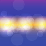 Vector illustration of abstract bokeh background Royalty Free Stock Photo