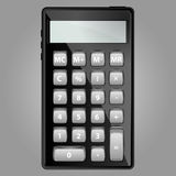 Vector illustration abstract Calculator background Royalty Free Stock Photos