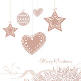 Vector illustration abstract Christmas Background Stock Photo