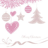 Vector illustration abstract Christmas Background Royalty Free Stock Image