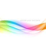 Abstract color banner Royalty Free Stock Photography
