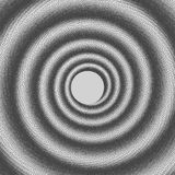 Vector illustration of abstract dotted spiral background. Halftone swirl backdrop. Pointillism. Pointillism Stock Images