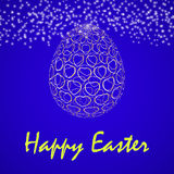 Vector illustration of abstract Easter egg Stock Photography