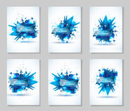 Vector illustration of an abstract explosion. Stock Photography