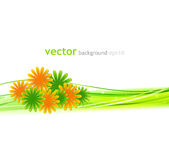 Vintage floral background Royalty Free Stock Image