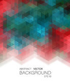 Vector Illustration. Abstract geometric colorful background Royalty Free Stock Photo