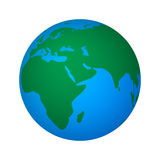 Vector illustration of abstract global world Stock Image
