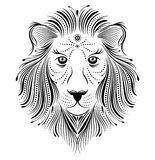 Abstract lion Stock Image