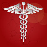Vector illustration of abstract medical background . Royalty Free Stock Photo
