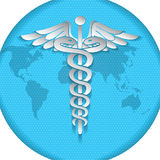 Vector illustration of abstract medical background . Stock Images