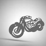 Vector illustration abstract motorbike icon background Stock Photos