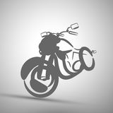 Vector illustration abstract motorbike icon background Royalty Free Stock Photos