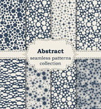 Vector illustration of abstract seamless patterns Stock Photos
