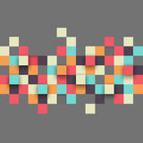 Vector Illustration of Abstract Squares Royalty Free Stock Images