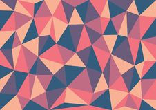 Vector Illustration Of Abstract Triangles Background. Eps 10 Stock Image