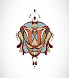 Vector illustration with abstraction. Stock Photos