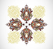 Vector illustration with abstraction. Royalty Free Stock Images