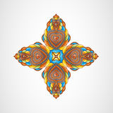 Vector illustration with abstraction. Royalty Free Stock Photo