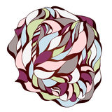 Vector illustration with abstraction. Stock Photography