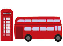 Vector illustration of All Over the World Travel icons . London Elements Stock Photography