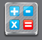 Vector illustration of apps icon set Stock Photo