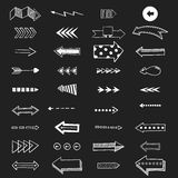 Vector illustration of arrow icons. Stock Photo