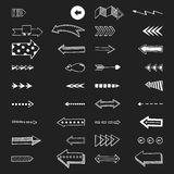 Vector illustration of arrow icons. Stock Images