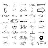 Vector illustration of arrow icons. Stock Photos