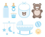 Baby icon set / Child stuff Stock Photography