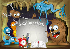Vector illustration. Back to school. Stock Image